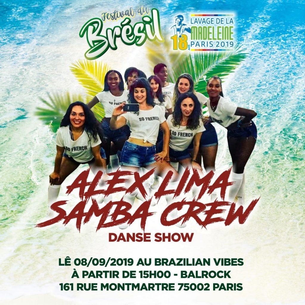 Show de Alex Lima Samba Crew