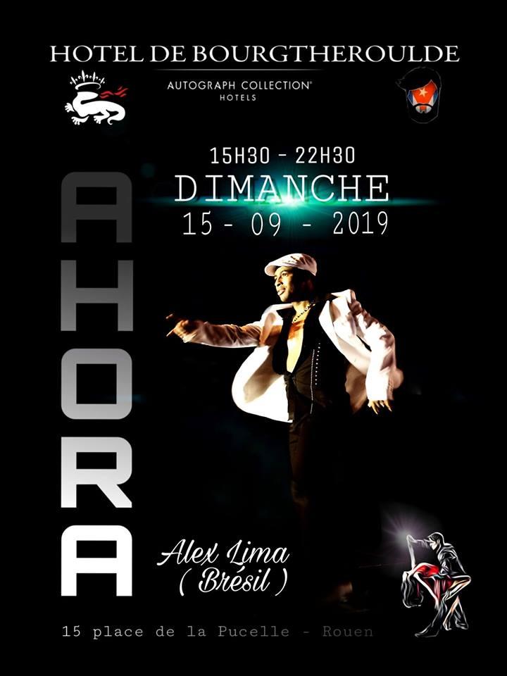 Salsa cubaine avec Alex Lima à Rouen