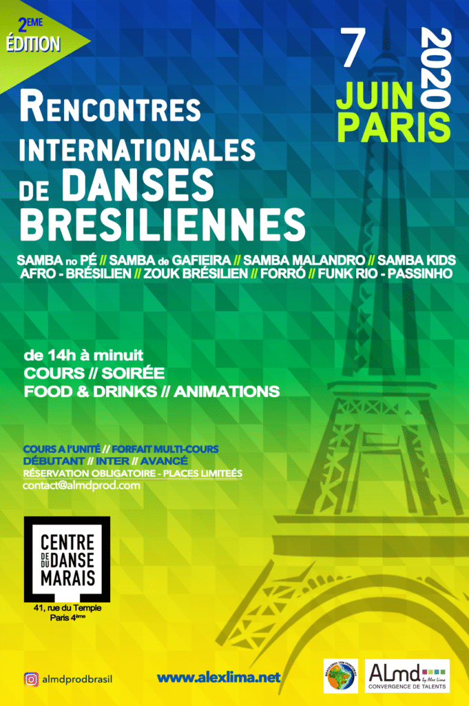 Rencontres Internationales de Danses Brésiliennes Paris